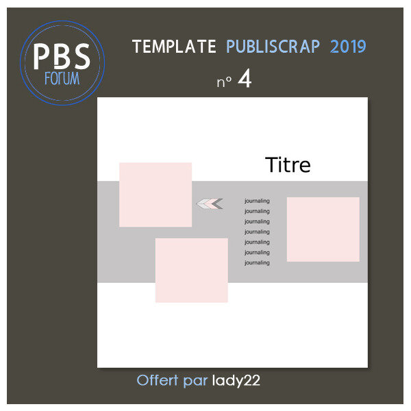 Template PBS 2019-5 - Freebie