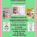 2eme blog candy chez passion scrapbooking