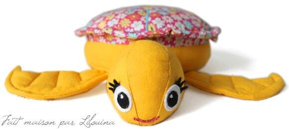 La petite soeur de Teani, la tortue...