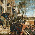 Dujardin-Beaumetz Scène de la guerre