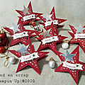 marque place étoile noël
