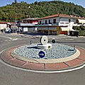 Rond-point à Castelgomberto (Italie)