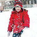 On amène les enfants à la neige!
