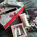 <b>BIRCHBOX</b> la box du mois d'avril