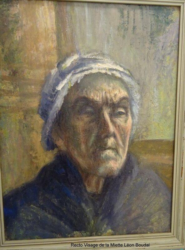 Léon Boudal Visage de la Miette