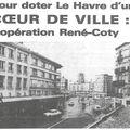 Les 10 ans du centre coty (3) - fin des années 70 - lancement de l'opération urbaine thiers-coty