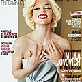 <b>Milla</b> <b>Jovovich</b> en mode Marilyn