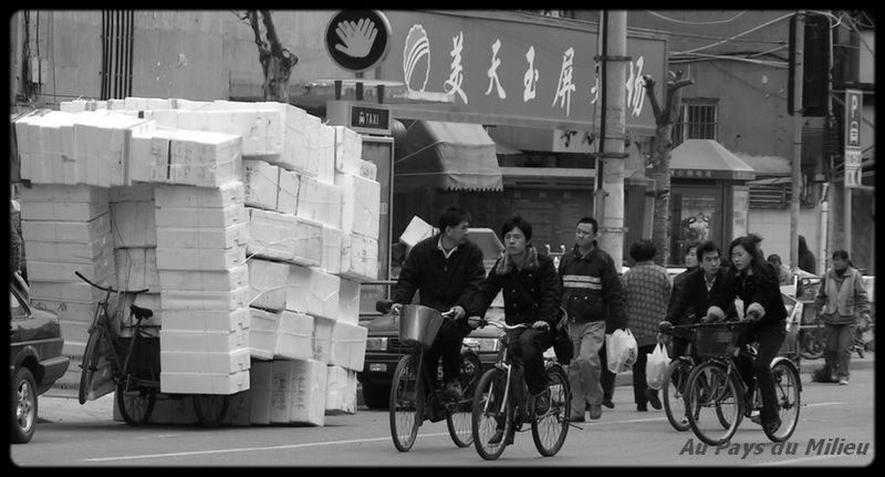 Shanghai vélos