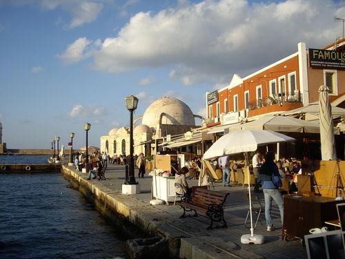 Le port de La Canée ou Chania ou encore Xanie