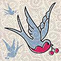 Le temps des cerises # 2 les cerises bleues