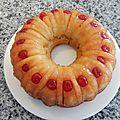 Gâteau renversé aux ananas