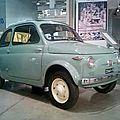 Fiat nuova 500. (1957)