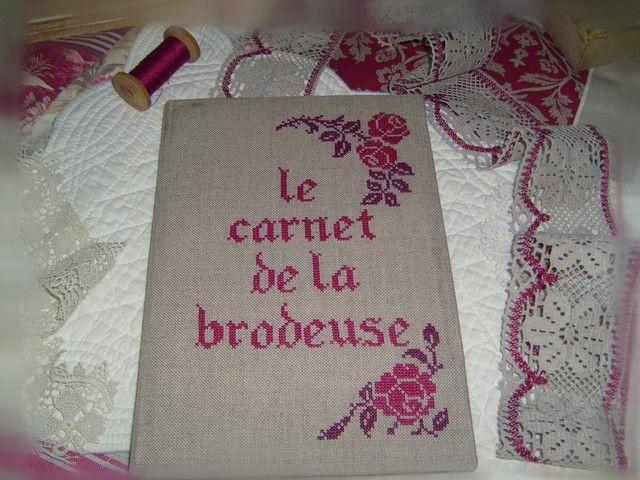 LE CARNET DE LA BRODEUSE