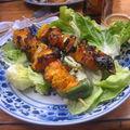 Vietnam: brochettes de poulet
