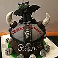 <b>anniversaire</b> viking/dragon