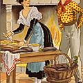 Arlésienne et gardian en cuisine