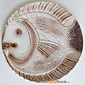 Vaisselle Ancienne ... SERVICE à POISSON * Sarreguemines