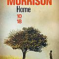 Home, de Toni Morrison (2012)