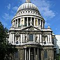 Mon top 10 les coupoles: N°3: La coupole de la <b>cathédrale</b> <b>Saint</b> <b>Paul</b> (Londres)