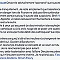 Francis Chouat refuse de soutenir l'association <b>BarakaCity</b> et la diffame