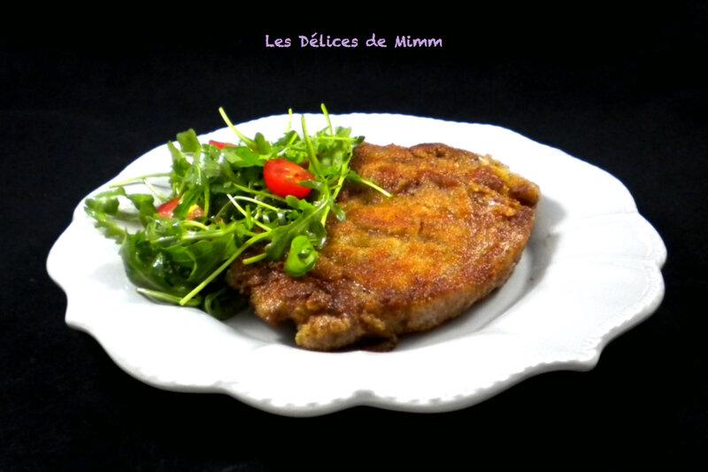 Côte de veau à la Milanaise 4