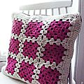 Coussin granny tout simple ! isabelle