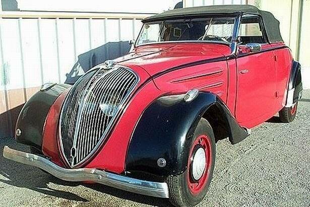 1937 - PEUGEOT - 402 Cabriolet Roadster