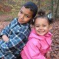 Mes enfants: Mark et Linnéa