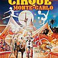 Cirque monte-carlo 2015 - affiche