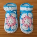 Tuto des chaussons african flower