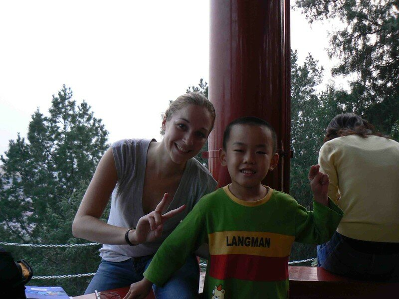 La blonde et le chinois