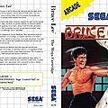 Bruce Lee enfin sur <b>Sega</b> Master System