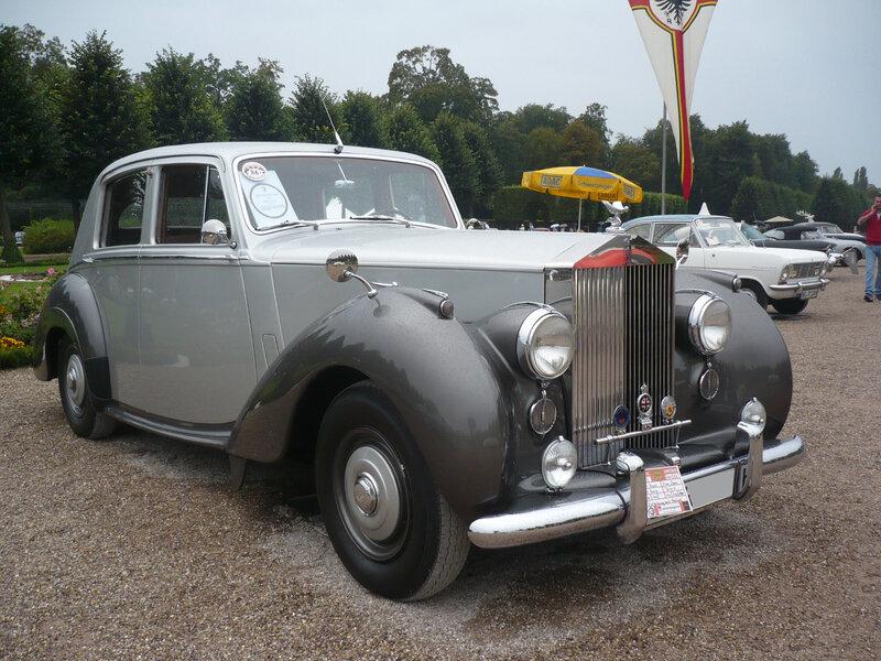 ROLLS ROYCE Silver Dawn 1954 Schwetzingen (1)
