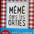 <b>Mémé</b> dans les <b>orties</b> -Aurélie Valognes.