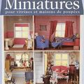 Miniatures pour vitrines et maisons de poupées de vivienne boulton