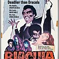 DRACULA VERSION <b>BLAXPLOITATION</b> (Blacula - Le Vampire Noir / Scream, Blacula, Scream)