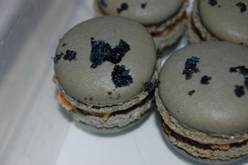 Macarons Crème de Pruneaux