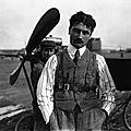 19 avril 1915, l'aviateur français roland garros est abattu en belgique