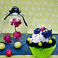 cupcake violette