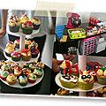 Atelier cupcakes team bulding paris - cupcakes framboises - chocolat blanc