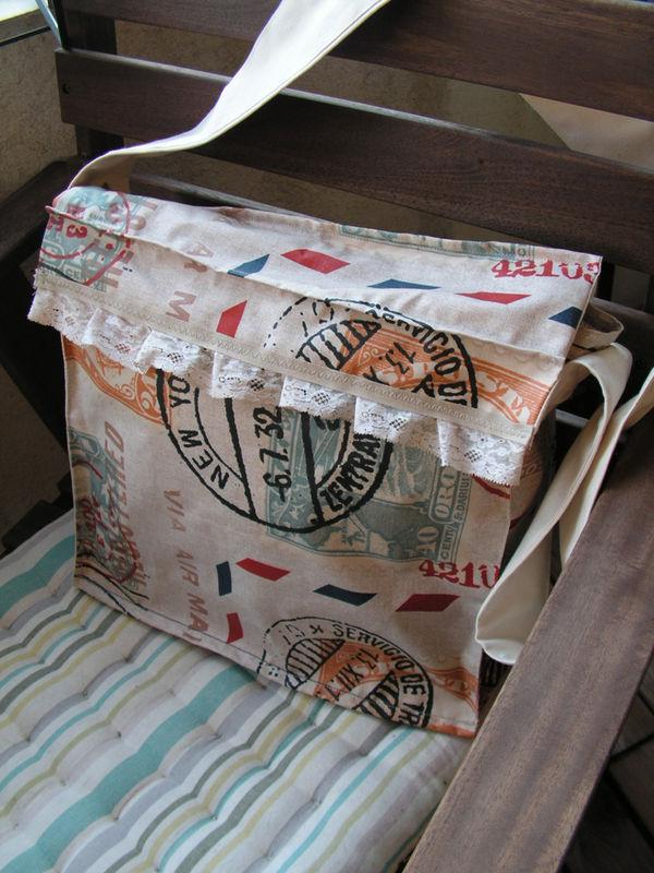 sac toile poste