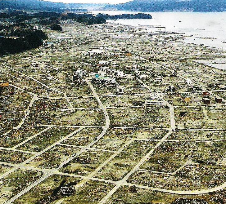 photo menaces environnementales - tsunami Fukushima 1
