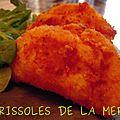 Rissoles de la mer (recette de sabrina, masterchef 2011)