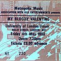 <b>My</b> <b>Bloody</b> <b>Valentine</b> - Vendredi 4 Mai 1990 - ULU (London)