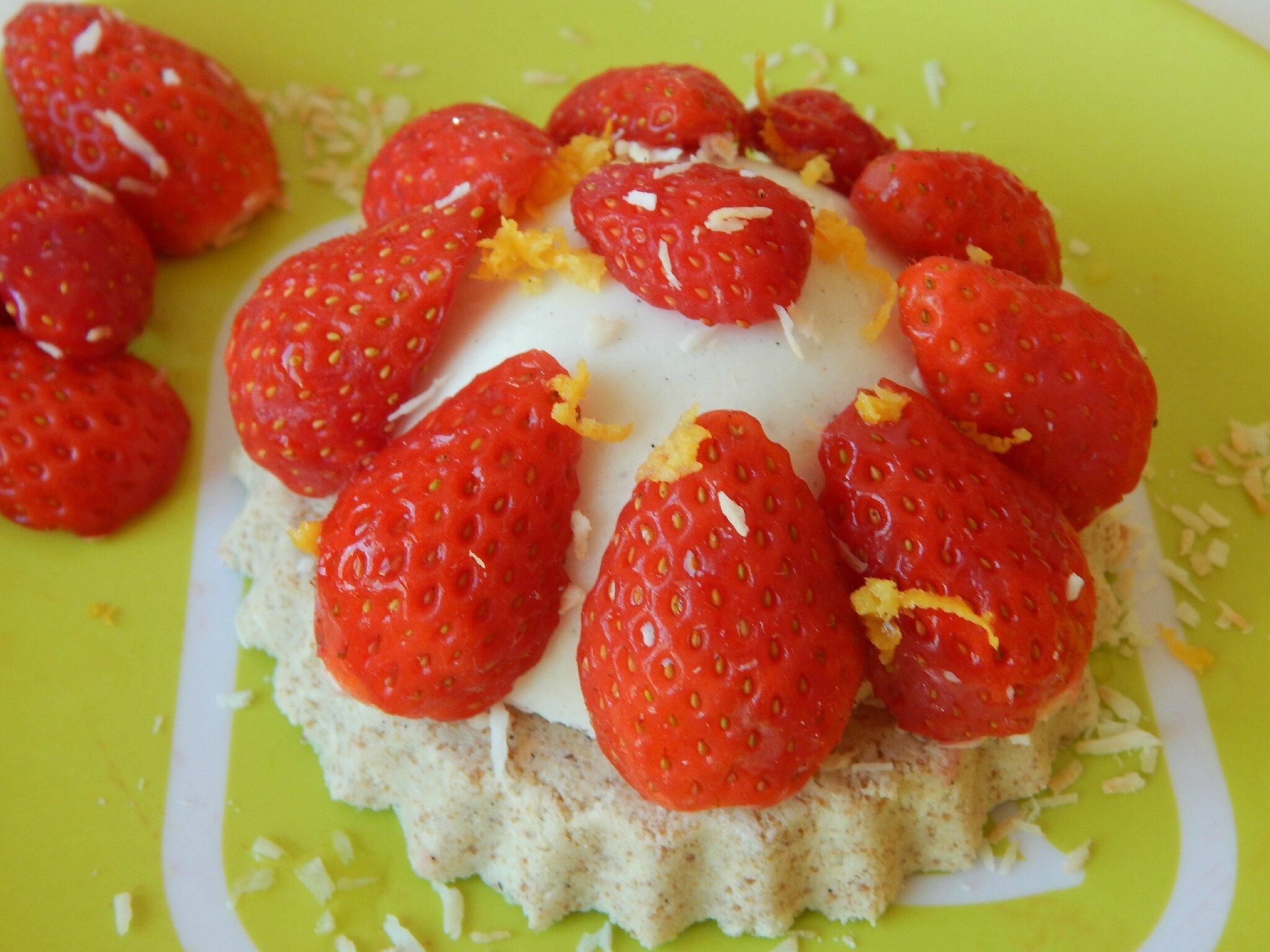 Tartelettes coco-fraise