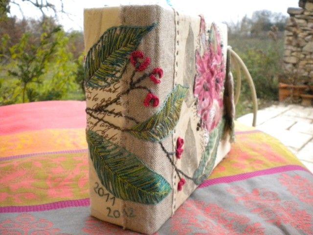 Carnet textile 013