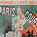 Collection ... lithographie originale paris courses * les maitres de l'affiche