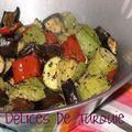 Légumes de saison rotis au four