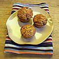 Muffins façon carrot cake aux panais