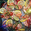 cocktail de crevettes version N°1